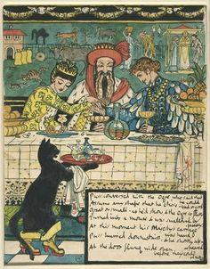 """Гравюры по рисункам Крейна к сказке """"Кот в Сапогах"""" http://fyama.livejournal.com/609412.html  Walter Crane (1845-1915)"""