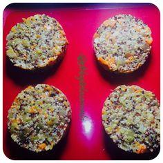 hamburguesas de quinoa Vegetarian Vs Vegan, Vegetarian Recipes, Cooking Recipes, Healthy Toddler Meals, Kids Meals, Food N, Food And Drink, Healthy Recepies, Healthy Food