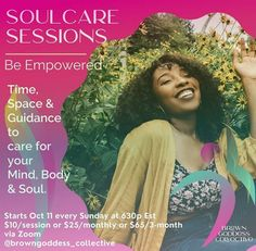 Brown Goddess Collective is offering soul care sessions, much needed during these times. Magazine Articles, Care About You, Zen, Miami, Times, Brown, Brown Colors