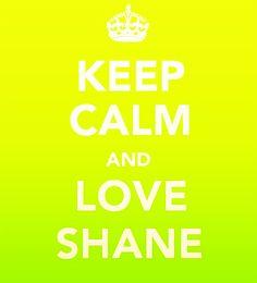...love shane (WEST)