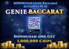 Genie Baccarat is available in Google Store NOW! ★Google Store: https://goo.gl/FIWyhV ★Fanpage: https://goo.gl/E1gnWr ★Group: https://www.facebook.com/groups/geniebaccarat/ #love #baccarat #jackpot #lottery #millionaire #luck #banker #tie #casino #slot #doubleu #doubledown #myvegasslot #gsncasino #bigfishcasino #slotmania #hititrich #deal #worldseriesofpoker #caesarsslots #gsngrandcasino #bingoblitz