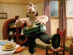 It's the wrong trousers, Gromit. And they've gone wrong!