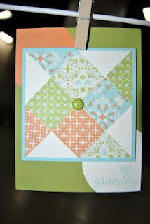 Faux Pinwheel  Is this a flying geese pattern? Tonya