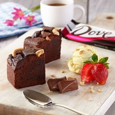 Scrumptious Dove® Chocolate Brownie