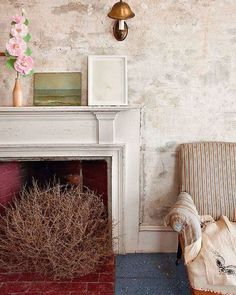 Look at this cute cottage living room!  Love the charming colors, and that amazing gigantic tumbleweed in the fireplace!  Available in any size you can dream of-- order now!  #cottagestyle #farmhousestyle #cottagedecor #tumbleweed #tumbleweeds #homedecor #decoration #livingroominspiration #livingroominso #diyhomedecor #decorating #decorideas #homestyle #decoratemyspace #naturaldecor #instahome #interiorinspiration #inspire_me_home_decor #interiordetails #room