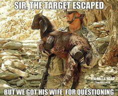 Questioning terrorists' relatives