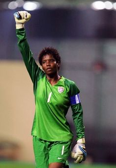 USA International Goalkeeper Briana Scurry