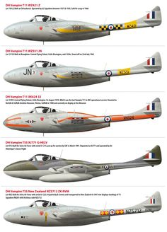 De Havilland Vampire Squadrons