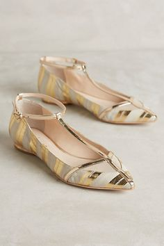 Guilhermina Karnak T-Straps #anthropologie