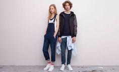 Tendance salopette 2017  Pull&Bear  femme  salopettes et combinaisons  salopette longue jean  ble