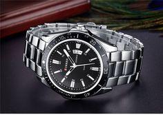 75edd5fcf23 Pánské kovové hodinky šedé s černým ciferníkem + POŠTOVNÉ ZDARMA Na tento  produkt se vztahuje nejen