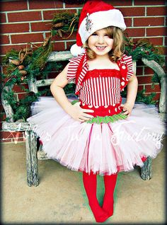 This is the cutest Christmas outfit ever!