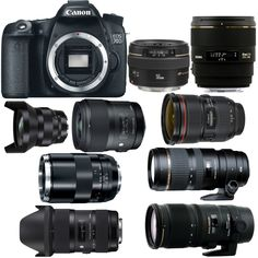 Best Lenses for Cano