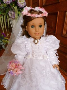 That special day has arrived. Whether its a walk down the aisle or a coming out ball, your American Girl doll, or any 18inch doll will have all