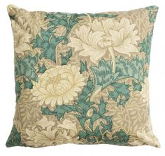 Chrysanthemum Feather Filled Cushion