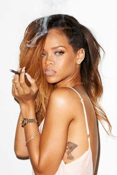 amazing Rihanna for The Rolling Stones magazine by provocative Terry Richardson