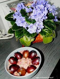 śliwkowa owsianka- pyszne śniadanie do pracy