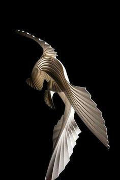 Bird - Richard Sweeney - paper art
