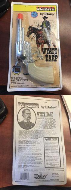 2703cb3eecc1a Cap Guns 2660  Rare Wyatt Earp Diecast Front Break Double Action Toy Cap  Gun Daisy -  BUY IT NOW ONLY   10 on  eBay  wyatt  diecast  front  break   double ...