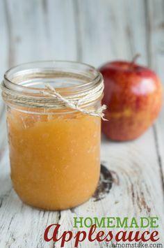 Easy Homemade Applesauce Recipe