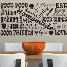 Decorating Ideas For Large Kitchen Wall