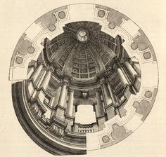 Design for the dome of San Ignazio, Rome