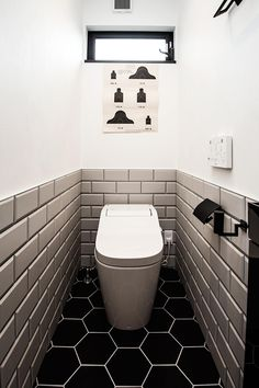 Wc Design, Toilet Design, House Design, Small Toilet Room, Guest Toilet, Guest Bathrooms, Small Bathroom, Wooden Pallet Beds, Ideas Baños