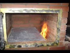 Oven Diy, Diy Pizza Oven, Bbq Stove, Stove Oven, Brick Bbq, Brick And Wood, Diy Wood Stove, Homemade Smoker, Four A Pizza