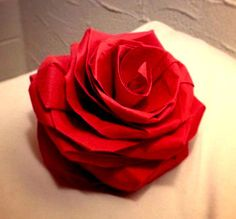 Origami Rose instructional video duration 29min by MABONAORIGAMI, $3.79