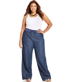 Awesome Inspirations Wide Leg Denim for Plus Size https://fasbest.com/awesome-inspirations-wide-leg-denim-plus-size/