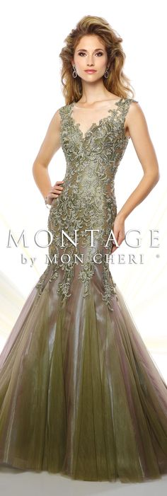 Montage by Mon Cheri Spring 2016 - Style No. 116953 #eveninggowns
