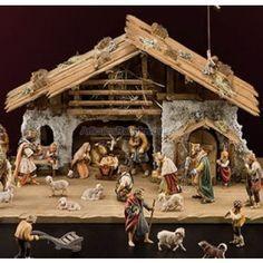 Resultado de imagen para pesebres en madera Christmas Villages, Christmas Nativity, Christmas Home, Christmas Crafts, Christmas Decorations, Nativity Stable, Nativity Sets, Ceramic Houses, Silent Night