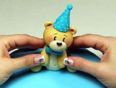 Tutorial Orsetto per il 1°compleanno bimbo | My Cake Design