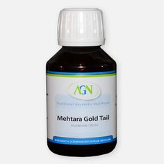 Mehtara Gold tail – Ayurvedische Massage olie