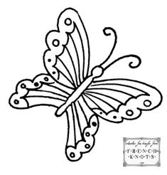 Butterflies Embroidery Transfer Patterns