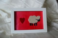 funky dolly sheep fun boxed photo frame  £6.00