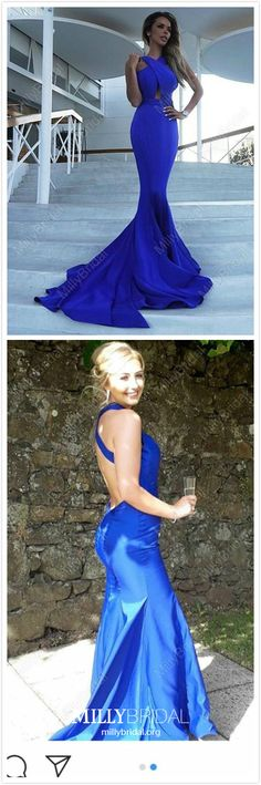 Mermaid Prom Dresses Long Royal Blue Formal Dresses For Teens, Satin Evening Dresses Simple - - Mermaid Prom Dresses Long Royal Blue Prom Dresses For Teens, Satin Prom Dresses Simple, Cheap Prom Dresses Open Back Source by Simple Homecoming Dresses, Cute Prom Dresses, Mermaid Prom Dresses, Party Dresses, Backless Dresses, Graduation Dresses, Prom Gowns, Dress Prom, Occasion Dresses