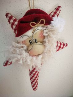 1 Million+ Stunning Free Images To Use A - Diy Crafts Felt Christmas Decorations, Felt Christmas Ornaments, Holiday Fun, Christmas Holidays, Christmas Wreaths, Christmas Door, Christmas Sewing, Primitive Christmas, Christmas Projects