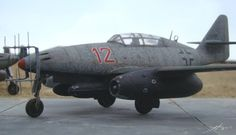 Me262 Night Fighter with radar.