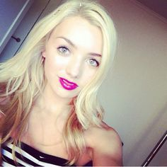 Peyton List. She looks stunningly beautiful in this photo. Very pretty indeed. Peyton you are a sweet darling. Love. Sal P.