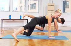 There are many benefits to having strong glutes. You'll have a toned and perky booty in no time with these 10 butt workouts. Instructional gifs included! | Posted By: AdvancedWeightLossTips.com Floor Workouts, At Home Workouts, Butt Workouts, Barre Workouts, Squats And Lunges, Daily Burn, Home Exercise Routines, Glute Bridge, Leg Lifts