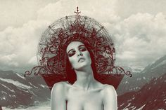 human NATURE on the Behance Network. Love the composition and portraiture.
