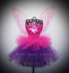 DIVA Tutu Dress - Fairy Set - Includes Wings