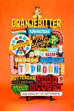 Oranjebitter Festival 2015 – Poster Design – Mals