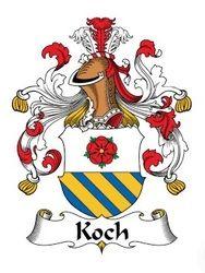 Koch family crest