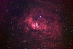 The Bubble Nebula (NGC 7635) - Astronomy Magazine - Interactive Star Charts, Planets, Meteors, Comets, Telescopes