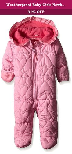 f07c4144e See more. Weatherproof Baby-Girls Newborn Heart Shaped Quilted Puffer Pram,  Pink Prism, 6-