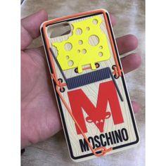 MoschinoモスキーノiPhone8/7s/7 plusケース ネズミ捕り 芸能人 ブランドシリコンアイフォン6s plusカバー 可愛い