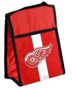 NHL Detroit Redwings Velcro Lunch Bag by Forever Collectibles. $7.14. Detroit Redwings Velcro Lunch Bag