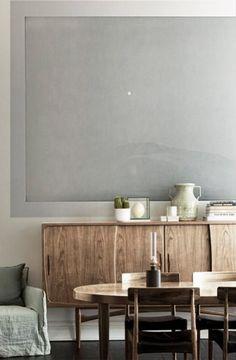 Wandbild Moonrise von eco Wallpaper